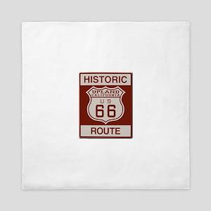Upland Route 66 Queen Duvet