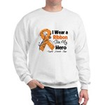 Multiple Sclerosis I Wear Ribbon Sweatshirt