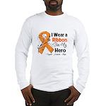 Multiple Sclerosis I Wear Ribbon Long Sleeve T-Shi