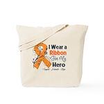Multiple Sclerosis I Wear Ribbon Tote Bag