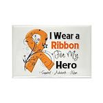Multiple Sclerosis I Wear Ribbon Rectangle Magnet