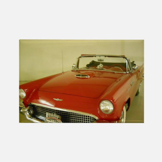 Red 1957 Ford Thunderbird Rectangle Magnet