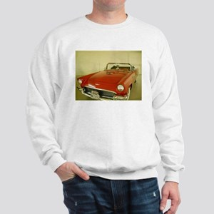 Red 1957 Ford Thunderbird Sweatshirt