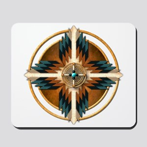 Native American Mandala 02 Mousepad