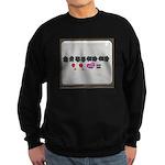 Up up down down Love 2 Player Sweatshirt (dark)
