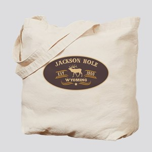 Jackson Hole Belt Buckle Badge Tote Bag