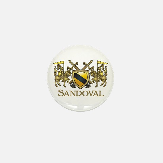 Sandoval Coat of Arms Mini Button