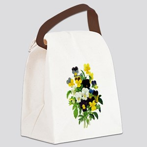 Pierre-Joseph Redoute Botanical Canvas Lunch Bag
