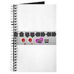 Geek Romance Nintendo Controller Valentine Journal