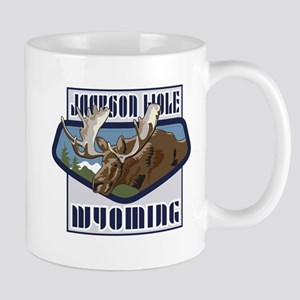 Jackson Hole Mountaintop Moose Mug