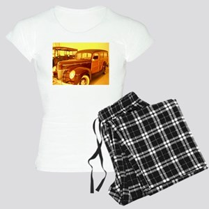 1940 Ford Woody Women's Light Pajamas