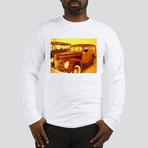 1940 Ford Woody Long Sleeve T-Shirt