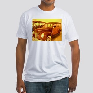 1940 Ford Woody Fitted T-Shirt