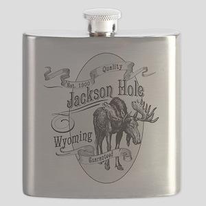 Jackson Hole Vintage Moose Flask