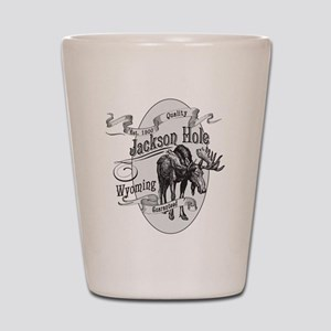 Jackson Hole Vintage Moose Shot Glass
