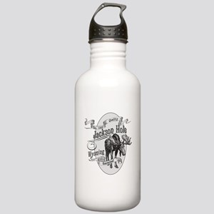 Jackson Hole Vintage Moose Stainless Water Bottle