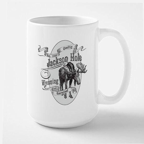 Jackson Hole Vintage Moose Large Mug