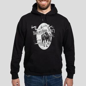 Yellowstone Vintage Moose Hoodie (dark)
