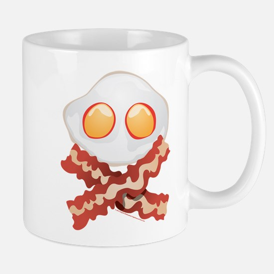 Skull and Bacon Mug