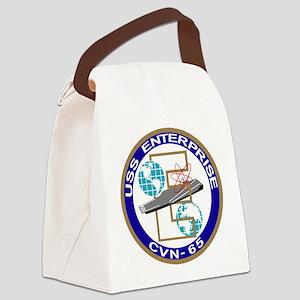 cvn_65 Canvas Lunch Bag