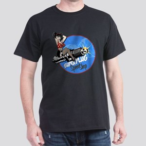 Super Plug Speed Shop Dark T-Shirt