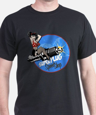 Super Plug Speed Shop T-Shirt