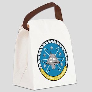 cvn_69_carrier Canvas Lunch Bag