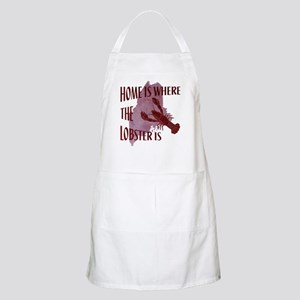 Home Is Where The Lobster Is Apron