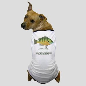 Bluegill or Bream Dog T-Shirt