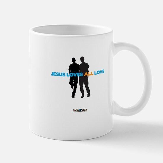 Jesus Loves All Love Mug