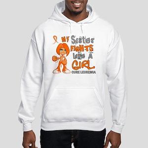 Licensed Fight Like a Girl 42.9 Hooded Sweatshirt