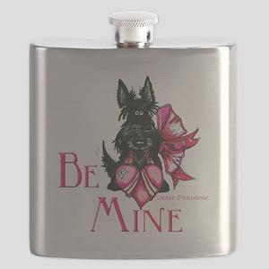 Scottish Terrier Valentine Flask