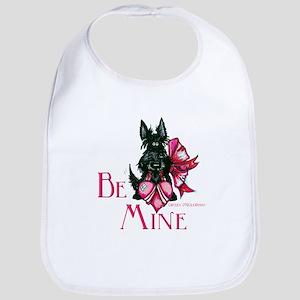 Scottish Terrier Valentine Bib