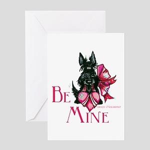 Scottish Terrier Valentine Greeting Card