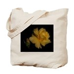 Yellow rose and bud Tote Bag
