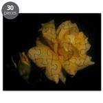Yellow rose and bud Puzzle