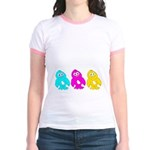 CMY Penguins Jr. Ringer T-Shirt
