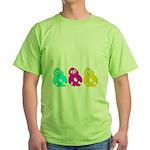 CMY Penguins Green T-Shirt