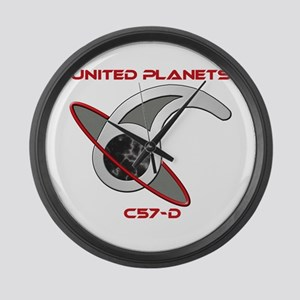 United Planets Insignia Large Wall Clock