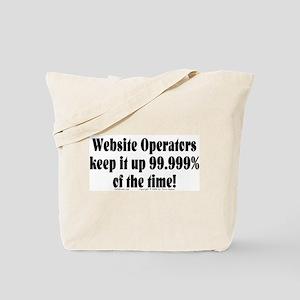 Website Ops... Tote Bag