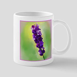 Lavendar Flower Mug
