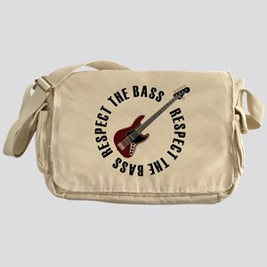 Respect the bass Messenger Bag