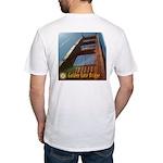 Golden Gate Bridge Tower Fitted T-Shirt