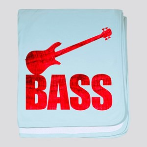 Bass baby blanket