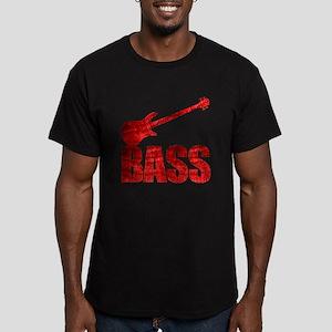Bass Men's Fitted T-Shirt (dark)