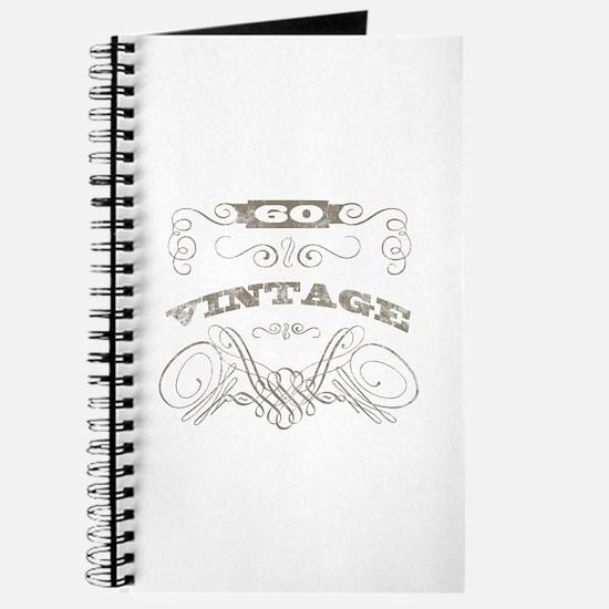 Vintage 60th Birthday Journal