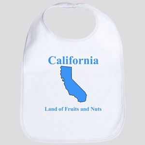 California Land of Fruits and Nuts Bib