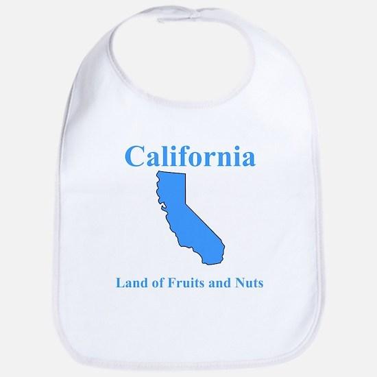 California Land of Fruits and Nuts Bib