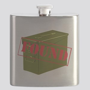 Found Stamp Flask