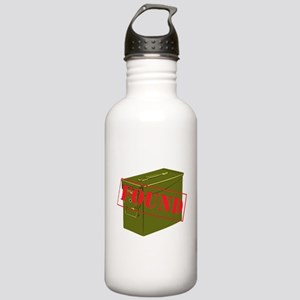 Found Stamp Stainless Water Bottle 1.0L